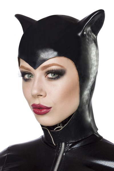 Cat Kapuze schwarz