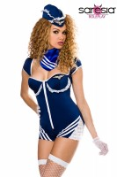 Retro Stewardess-Kostüm von Saresia Roleplay