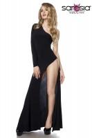 Gogo-Kleid schwarz