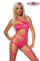 Wetlook-Monokini Gogo Outfit pink