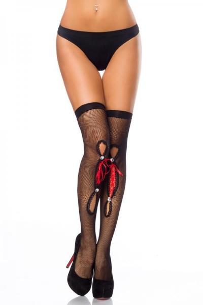 Netz-Stockings