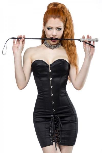 Corsagen-Kleid schwarz