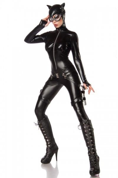 Sexy Cat Fighter schwarz