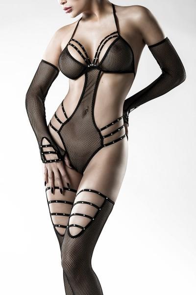 4-teiliges Body-Set von Grey Velvet schwarz